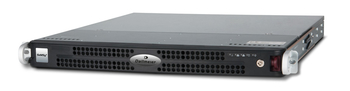 Server Rack-Mount 1RU, ideal platform for the different server components in a SeMSy III video management system.