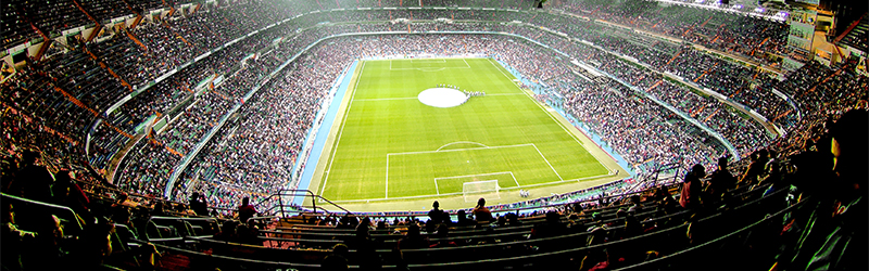 Dallmeier CCTV IP surveillance solutions for stadia, stadion, arena, football stadium, safety and security for visitors and football fans