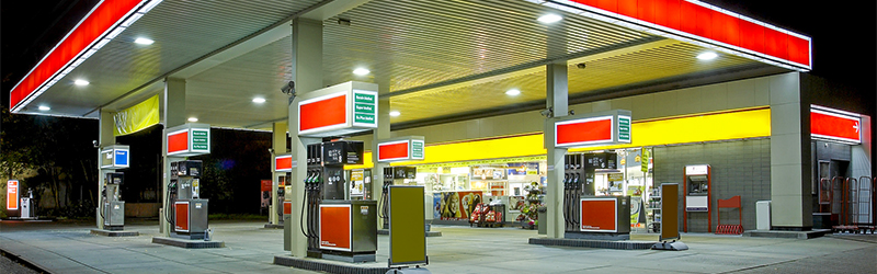 Video surveillance solutions for petrol stations, rest areas, service areas